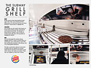 Burger King: The Subway Grill Shelf