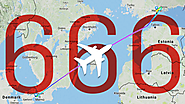 This Flight Tracker Site Is Dropping Some Funny Friday the 13th Tweets About Flight 666 Going to 'HEL'