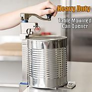 Best Heavy Duty Can Opener for the MoneyManual, Electric, Table Mount or Handheld - Tackk