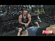 Dumbbell Bench Press on Decline Bench