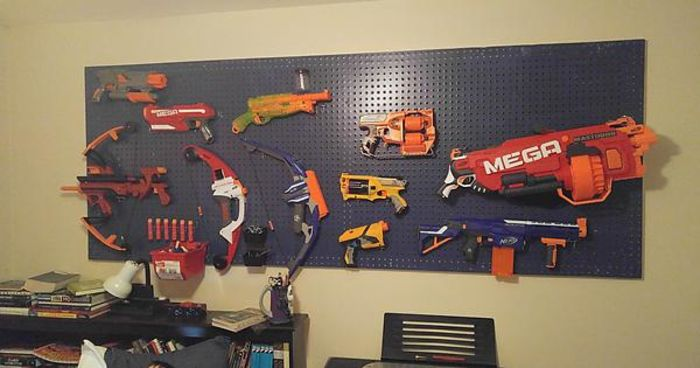 Talleysuenyc S Nerf Gun Storage Ideas Al