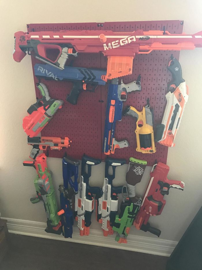 Nerf Gun Storage Ideas A Listly List