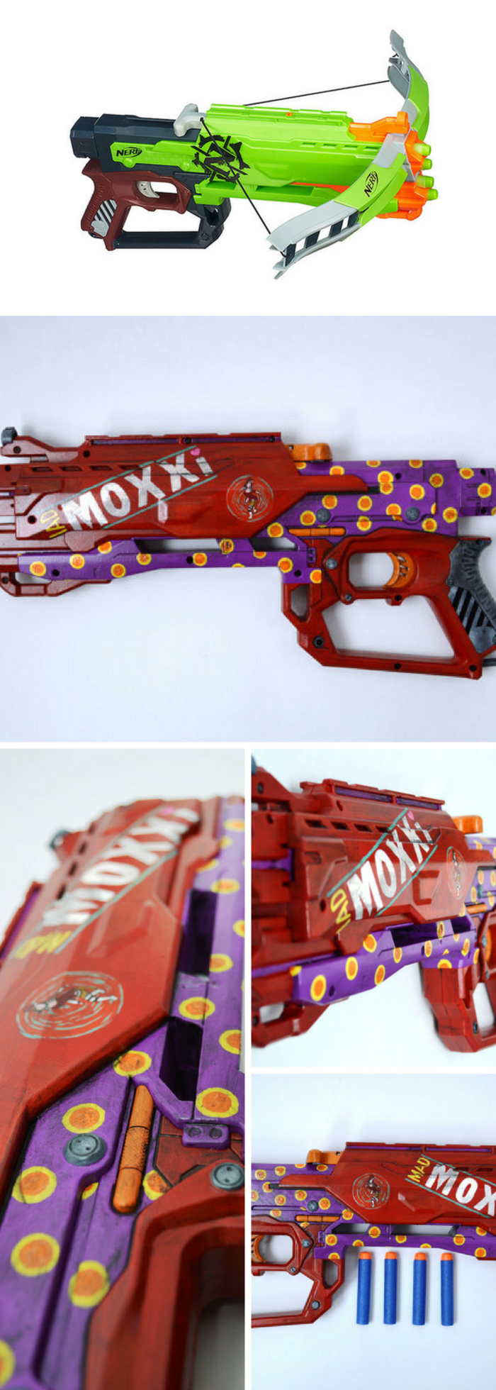 NERF Modulus Long Range Upgrade Kit  Hasbro  ToysRUs