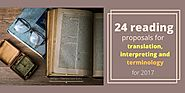 24 reading proposals for translation, interpreting and terminology for 2017