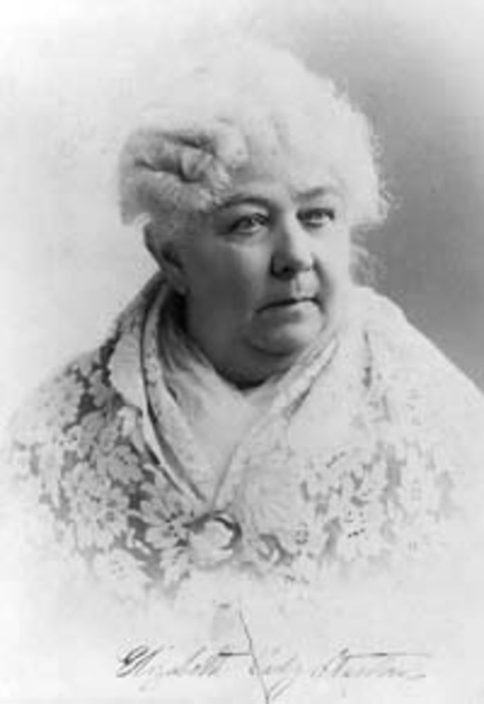 elizabeth cady stanton tirelessly worked for womens Elizabeth cady stanton (november 1815 – october was an american social activist, abolitionist, and leading figure of the early woman's movement.