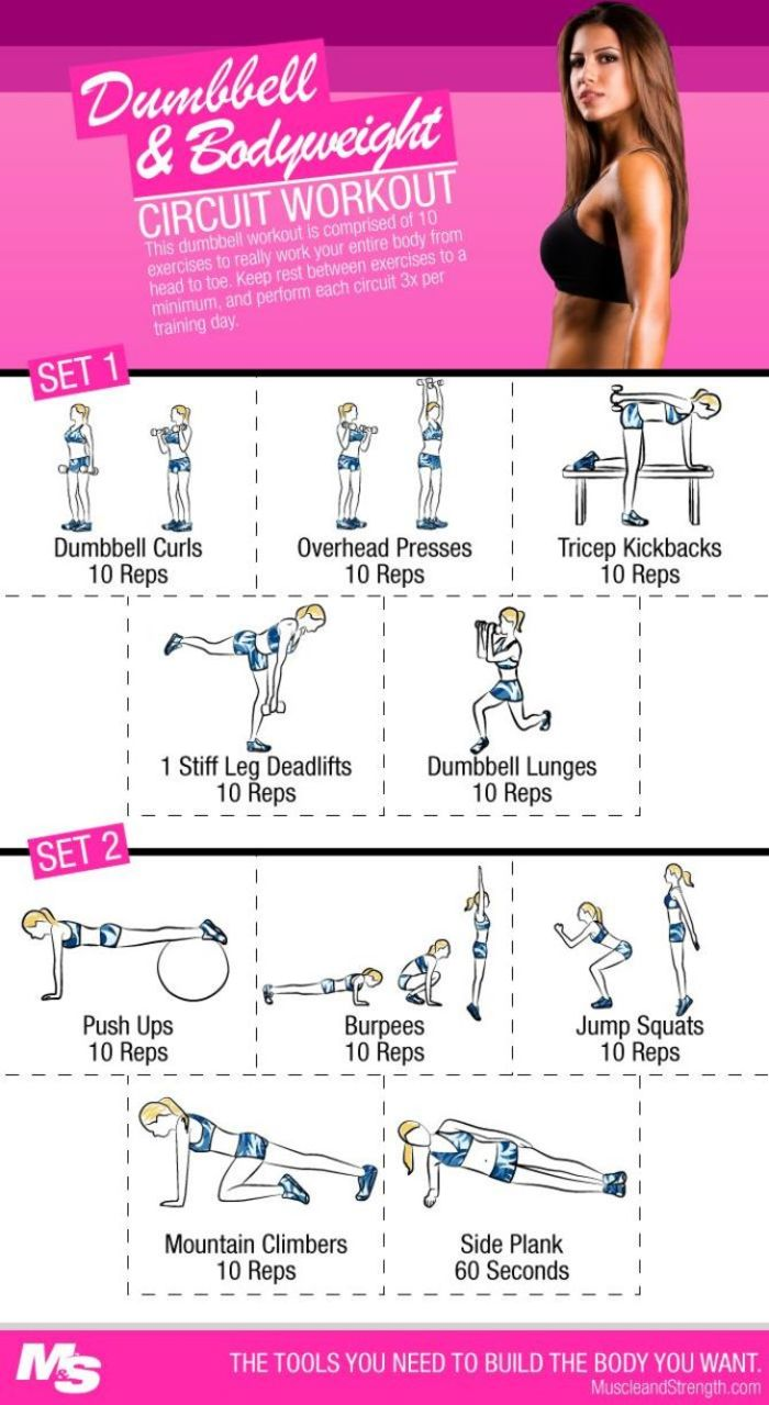 10 Full Body Dumbbell Workouts For Women A Listly List