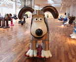 Charity fundraising from fibreglass animal figures