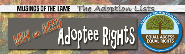 Why Adoptee Rights