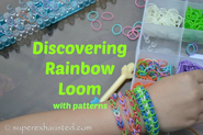 Rainbow loom rubber bracelets | How to use a Rainbow loom