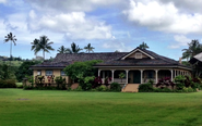 Historic Hanalei Beach Houses | Kauikeolani - Albert Spencer Wilcox Beach House