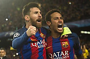 Barcelona makes social media history with win against PSG