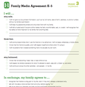 Staying Sane in Cyberspace | Common Sense Media: Family Media Agreement (K-5)