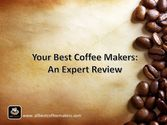 Best Coffee Machines 2016 | Your Best Coffee Makers: An Expert Review