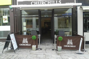 Lincoln independent cafes, coffee shops and tea rooms | Churchills