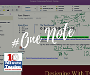 #17: Microsoft One Note: Useful Tips and Tricks for the Classroom @coolcatteacher
