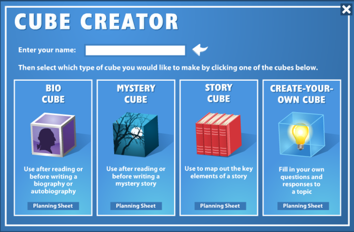 read write think generator