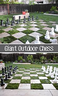 Giant Outdoor Chess? Oh My!