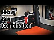 Muay Thai Heavy Bag Conditioning Workouts | Basic Heavy Bag Muay Thai Combination