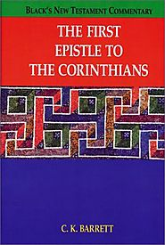 The First Epistle to Corinthians (BNTC)