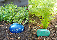 Herb & Vegetable Garden Labels-DIY