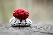 Get Stoned: 10 DIY Crafts You Can Make with Stones. | Crocheted Stones - Flax & Twine
