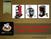 single serve coffee makers review