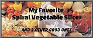 Spiral Vegetable Slicer Reviews | Top 3 Spiral Vegetable Slicers - and My Favorite (reviews too)