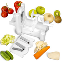Spiral Vegetable Slicer Reviews | Epica Manual Multi-Blade Spiral Vegetable Slicer