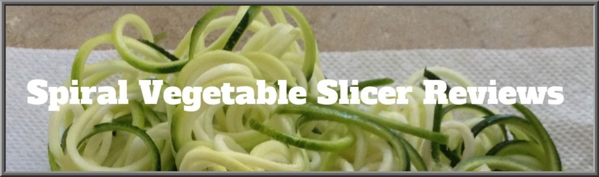 Headline for Spiral Vegetable Slicer Reviews