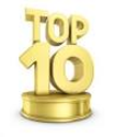 Top ten lists with more items below