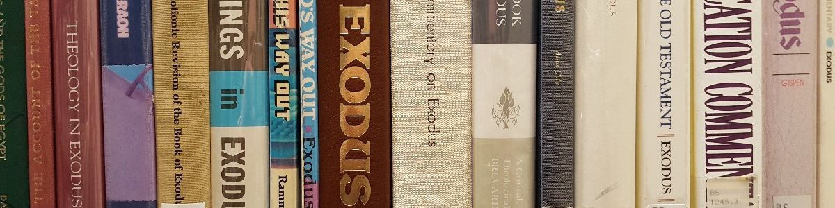 Headline for Best Bible Commentaries on Exodus