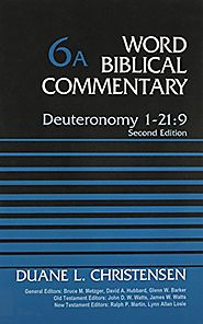 Deuteronomy 1-21:9 and and 21:10-34:12 (WBC)