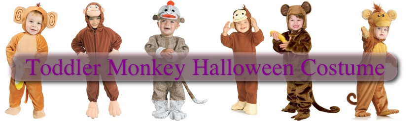Toddler Monkey Halloween Costume