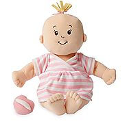 Hot Toys For Christmas | Manhattan Toy Baby Stella Peach Soft Nurturing First Baby Doll (new for 2015!)