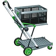 Clax Collapsible Folding Shopping Cart Review - Best Heavy Duty Stuff