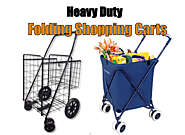 [2017] Best Heavy Duty Folding Shopping Carts with Wheels - Best Heavy Duty Stuff