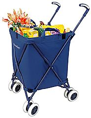 Folding Shopping Cart - Versacart Utility Cart Review - Water-Resistant Heavy Duty Canvas - Best Heavy Duty Stuff