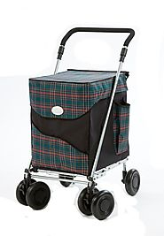 Sholley Trolley British Folding Shopping Cart Review - Best Heavy Duty Stuff