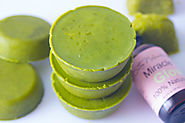 Green Tea Body Scrub Cups - Savvy Naturalista