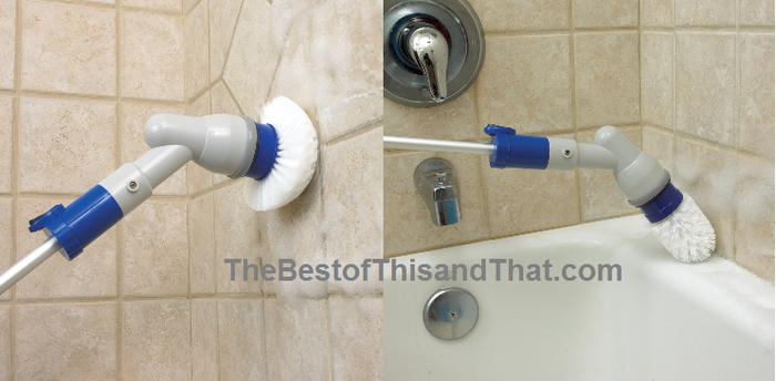 Bathroom Tub And Shower Scrubbers Battery Operated