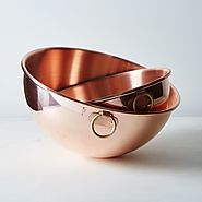 Copper Egg White Beating Bowl