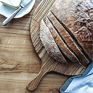 Vintage Inspired Handmade Bread Board