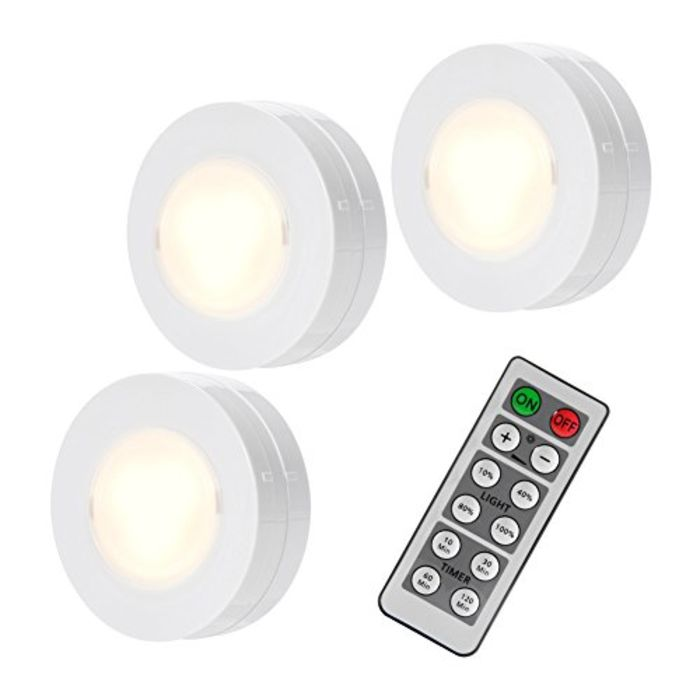 Top 10 Best Wireless Remote Control Led Puck Lights A