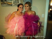 Bath loofah costume | RAZMATAZ: How to Be a Bath Puff For Halloween!