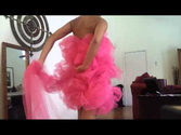 Bath loofah costume | Tutorial DIY No Sew Loofah Halloween Costume