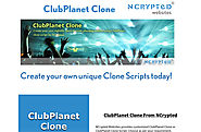 ClubPlanet Clone | ClubPlanet Clone Script | 'ClubPlanet Clone' from 'Website Clones' by NCrypted Websites