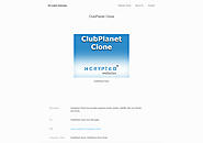 ClubPlanet Clone | ClubPlanet Clone Script | ClubPlanet Clone by NCrypted Websites on Gibbon