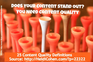 MnSearch Top 10 List Nominees | Content Quality Definition: 25 Experts Weigh In