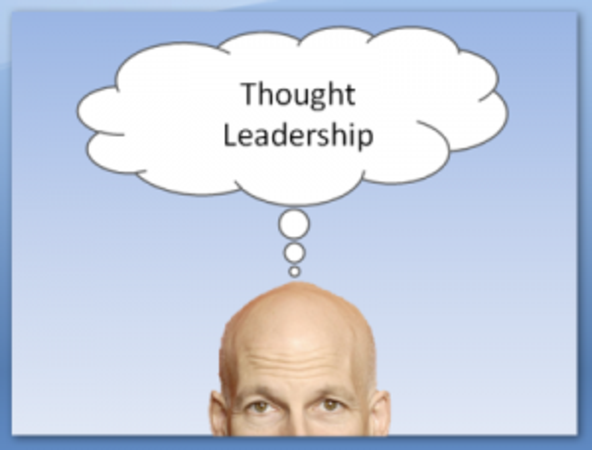 how to develop thought leadership