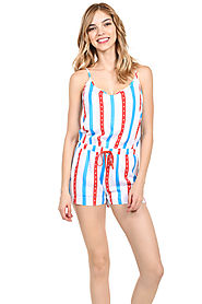 Women's Grand Stand Romper $38 @ Tipsy Elves